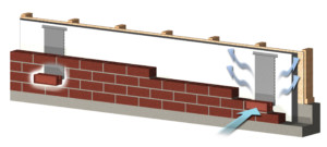 BrickVent Replaces weep holes
